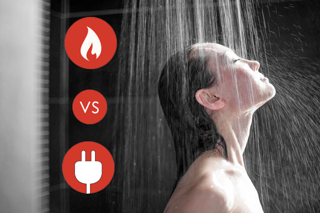 gas vs electric hot water system