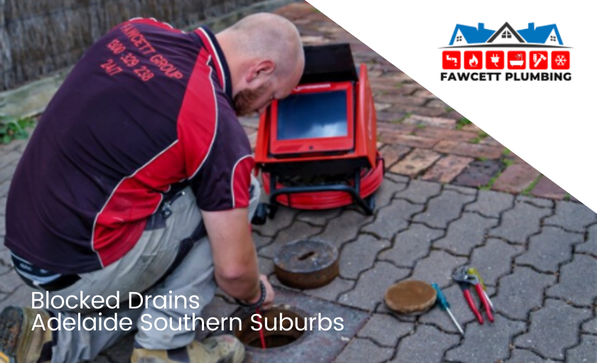 blocked drains adelaide southern suburbs banner
