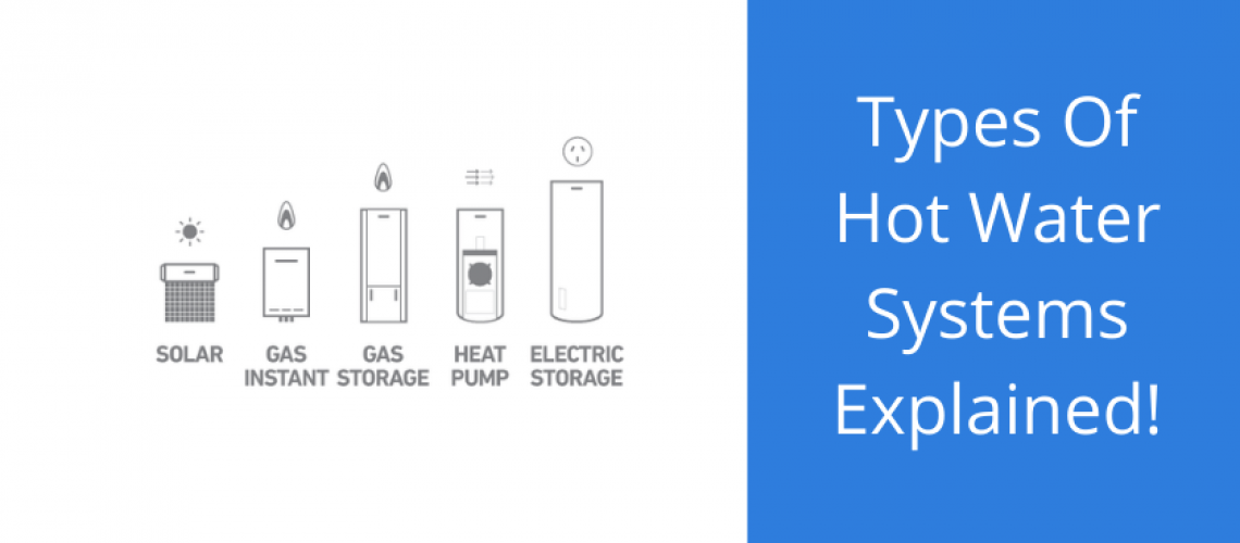 types of hot water systems australia